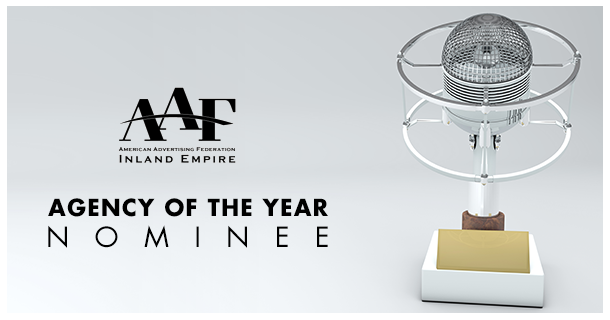 The Creative Bar is nominated for Agency of the Year in Inland Empire