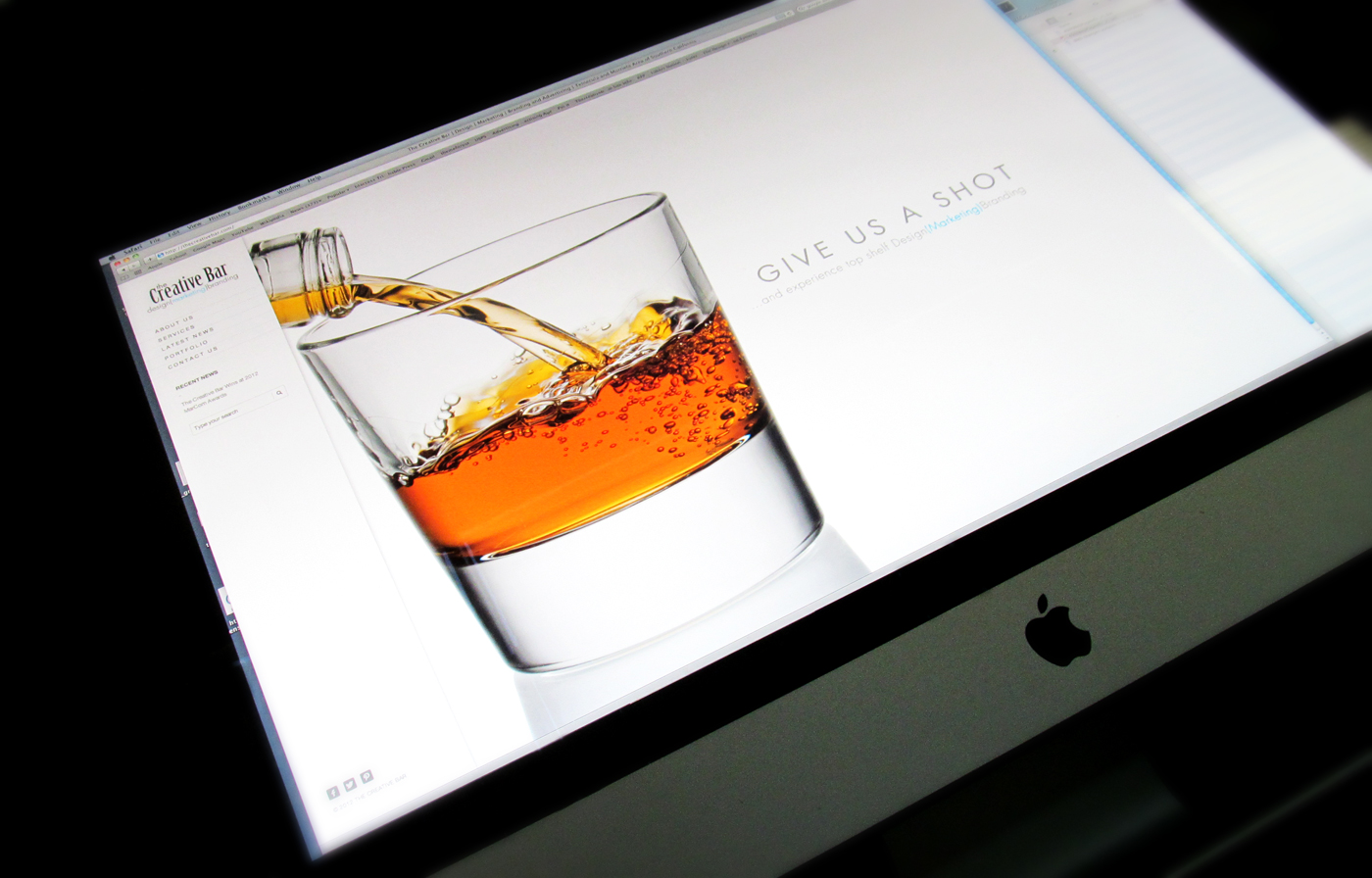 Creative Bar Website