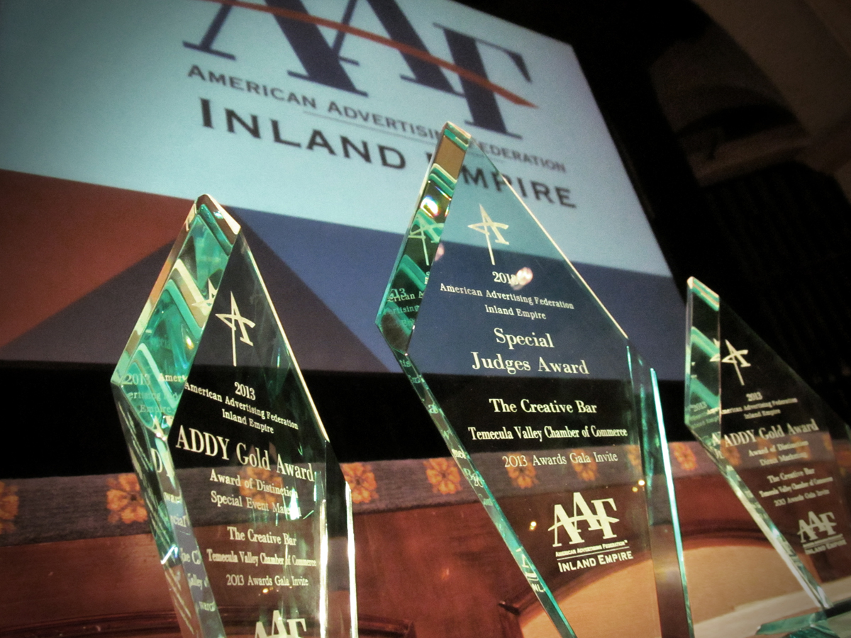The Creative Bar, Inland Empire ADDY Award Winners