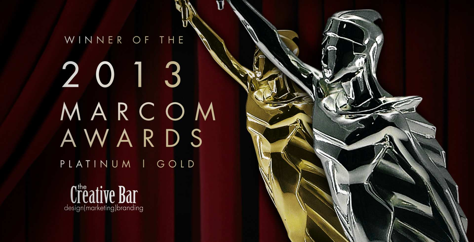Winner of Marcom Awards - The Creative Bar
