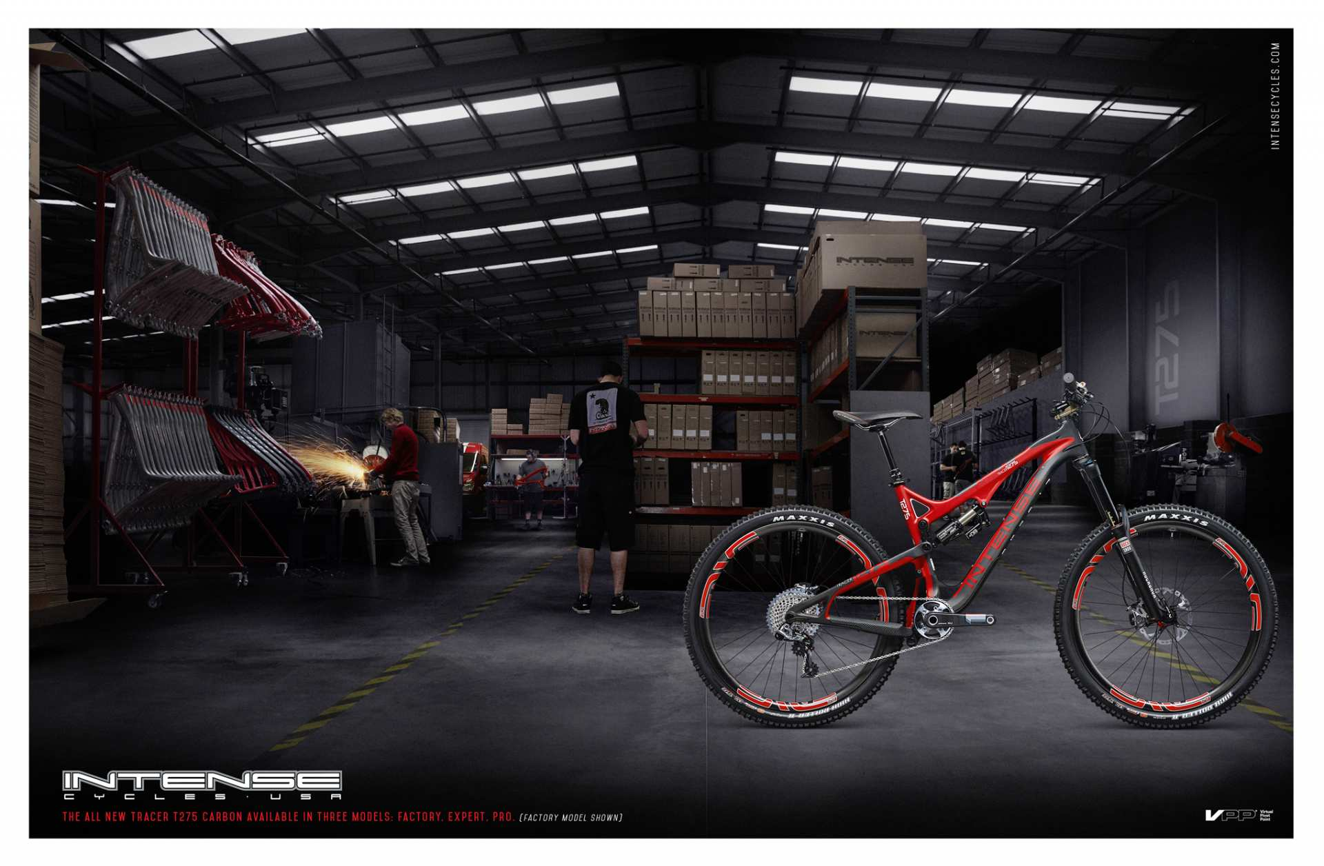Intense Cycles USA - The Creative Bar Case Study - marketing and branding materials