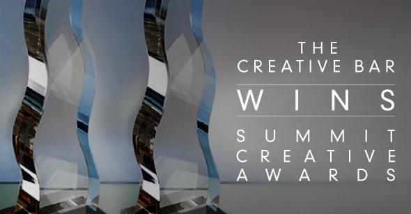 The Creative Bar Wins the Summit Creative Awards