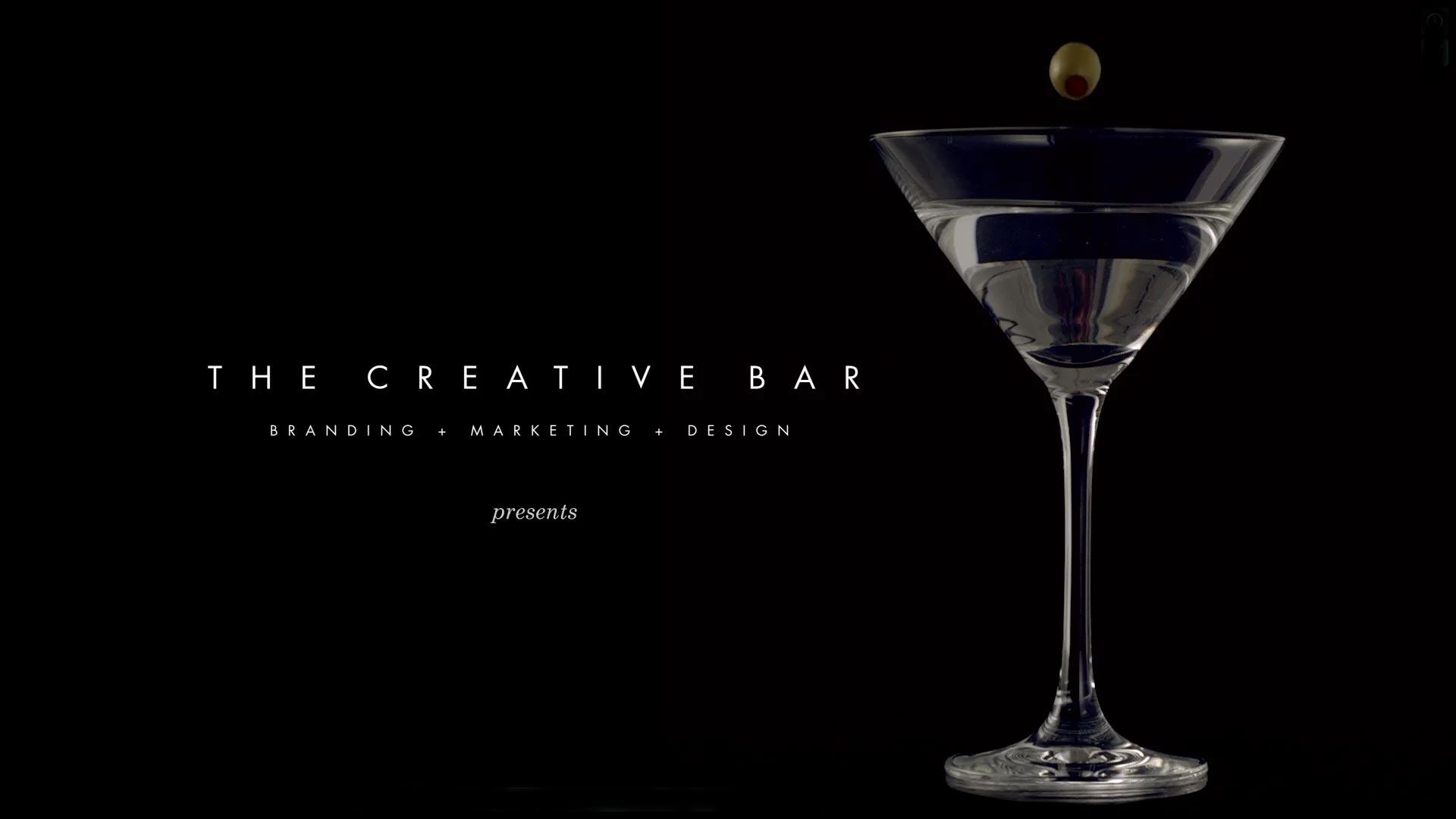 189078539 video. About The Creative Bar Branding   Design Agency    The Creative Bar