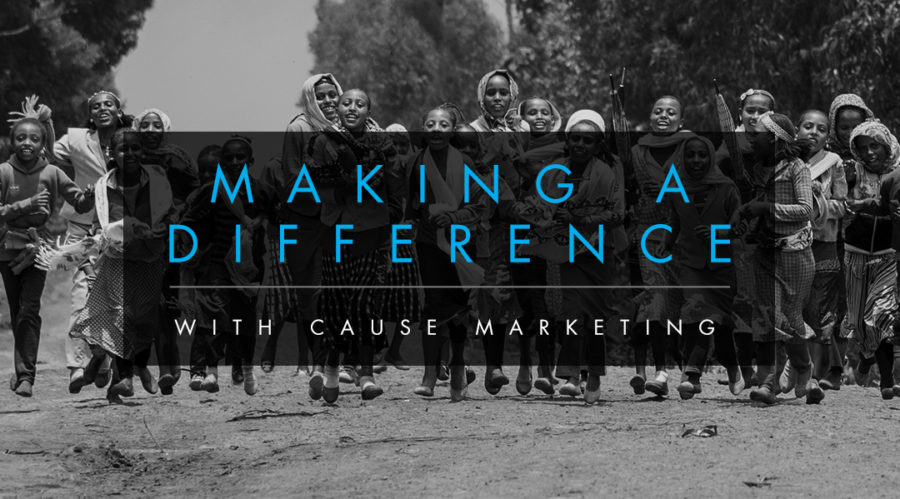Making A Difference with Cause Marketing
