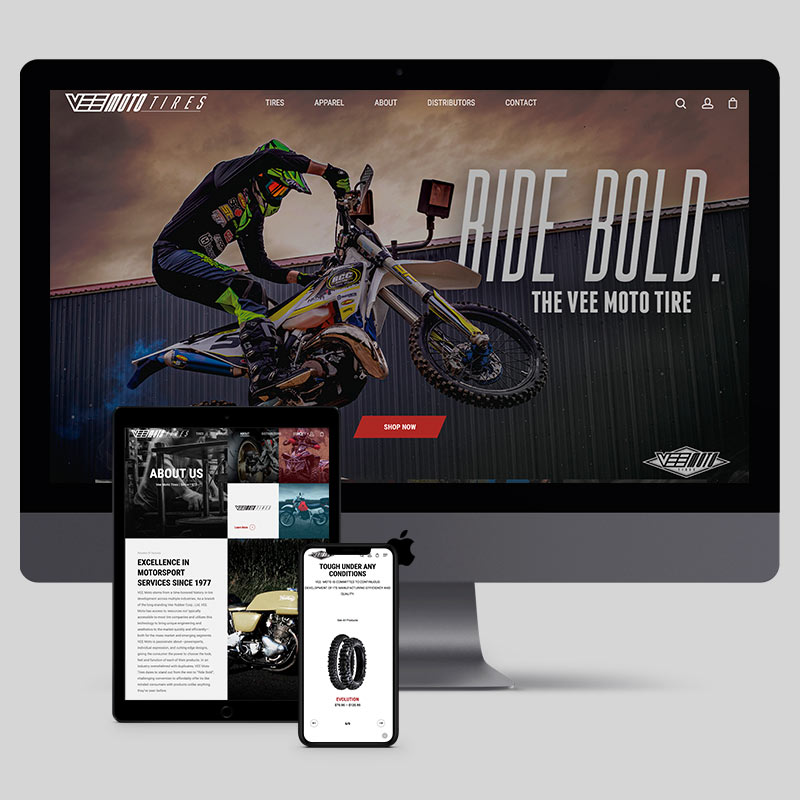 Vee Moto Tires - Website