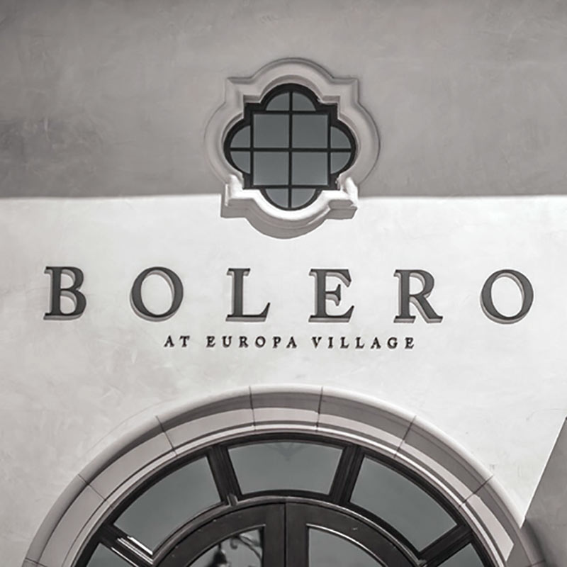 Europa Village - Signage