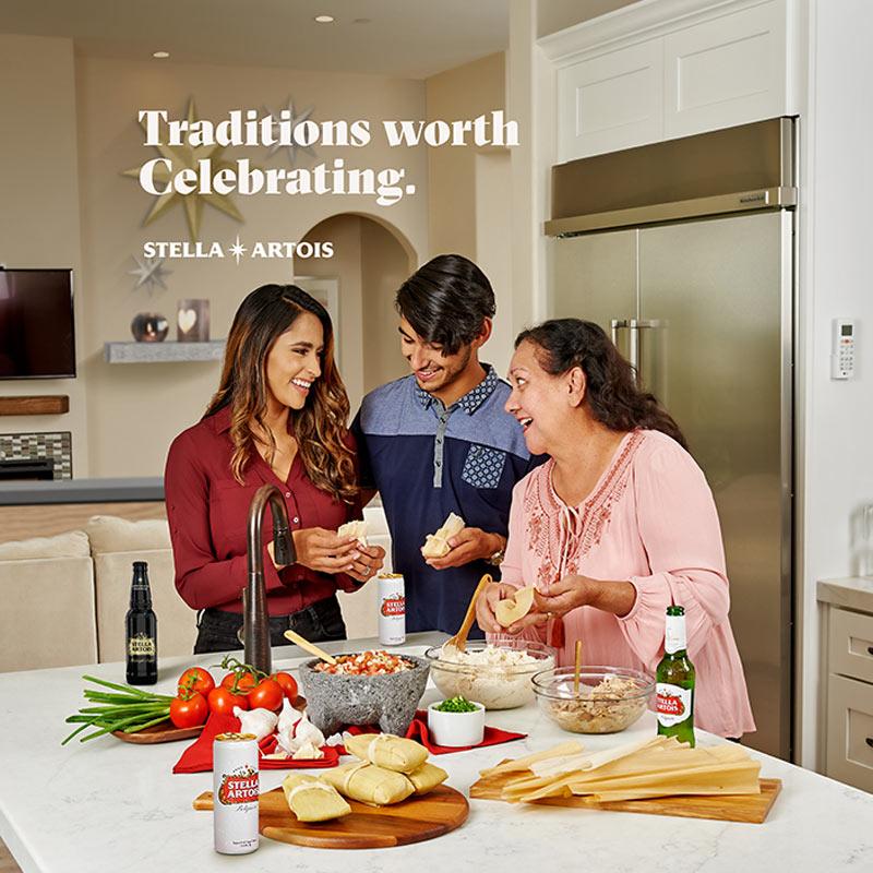 Stella Artois Traditions Worth Celebrating Photoshoot