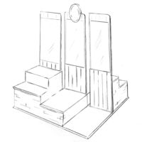 Drawing of an Estrella Jalisco POCM Design