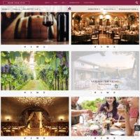 Europa Village Website Example, Venue Page